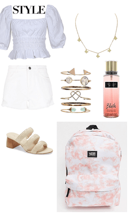 back to school summer outfit