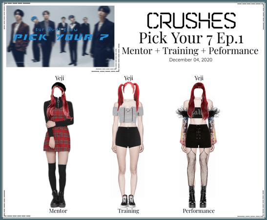 Crushes (호감) [Yeji] Pick Your 7 Ep. 1