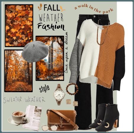 Fall Weather Fashion