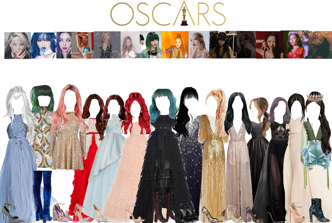 The oscars red carpet