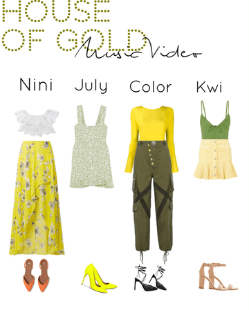 House Of Gold||Music Video outfits||[4est]•