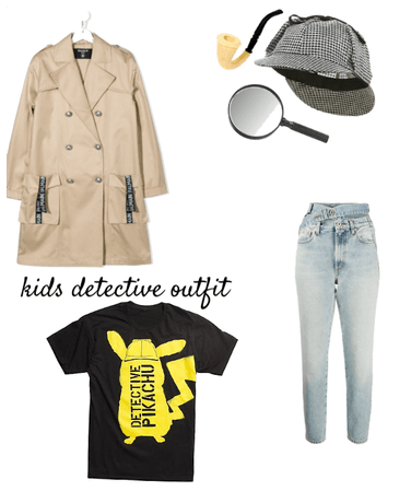 Kids detective outfit