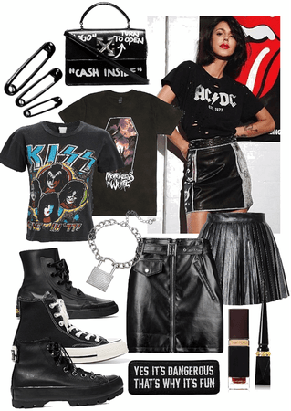 Rock Concert Outfit