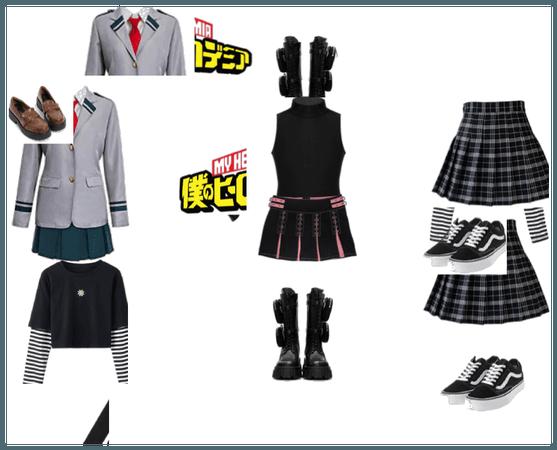 my mha ocs outfits