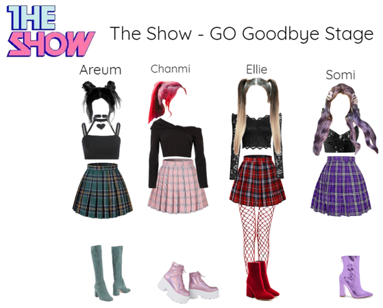 [ACES] The show GO - Goodbye Stage