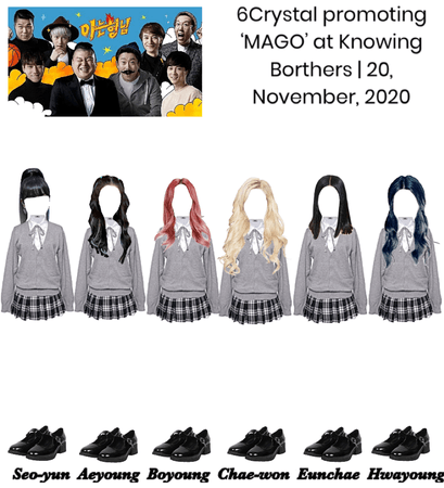 6Crystal Promoting 'MAGO' at Knowing Brothers   November 20, 2020