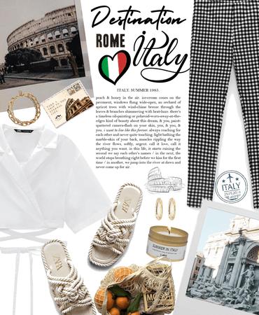 next destination  Rome, Italy