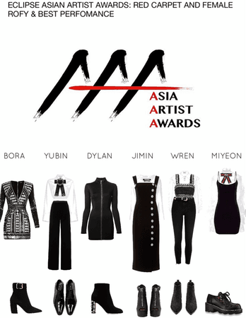 ECLIPSE ASIAN ARTIST AWARDS: RED CARPET AND FEMALE ROFY & BEST PERFOMANCE