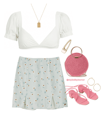 Pastel Picnic Summer Outfit
