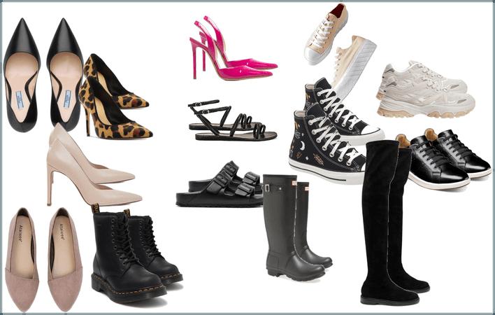 Basic wardrobe shoes