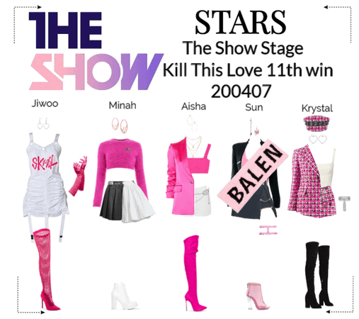 STARS | The Show Stage | Kill This Love 11th win