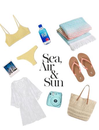 Sea, Air, and Sun🌊💨☀️