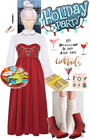 Cookies & Cocktails w/ Ms. Claus