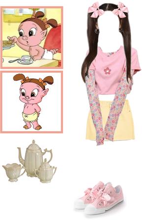 Baby Petunia Pig