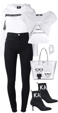Karl Lagerfeld Mom Jeans