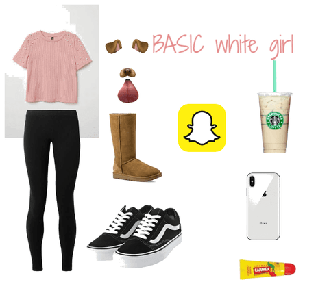 Basic white girl