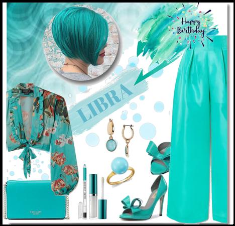 Libra - Turquoise