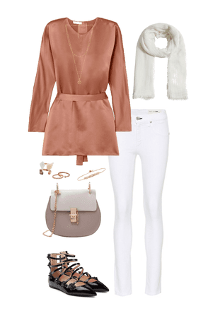 Neutral with a Pop Of Color