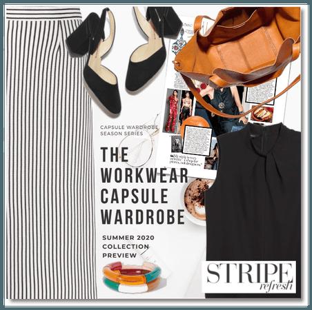 The Workwear Capsule Wardrobe - Stripe Refresh