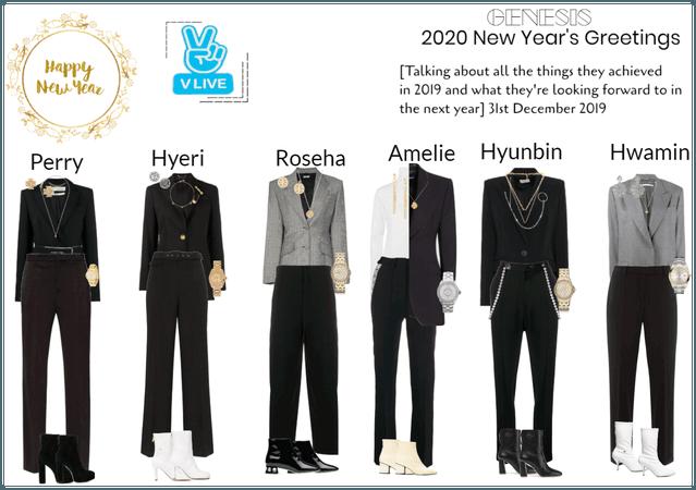GENESIS(게네시스) 2020 New Year's Greetings VLIVE
