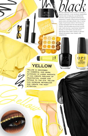 Color Combinations: Yellow and Black | COLOR COMBINATION CHALLENGE |