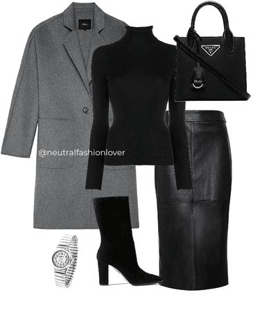 Black and greys