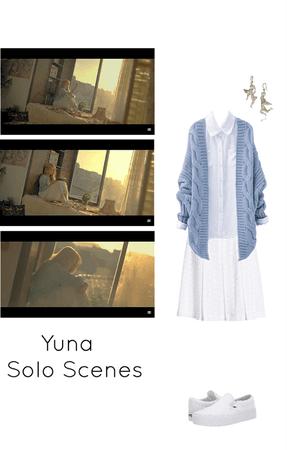Secret MV- Yuna solo scenes