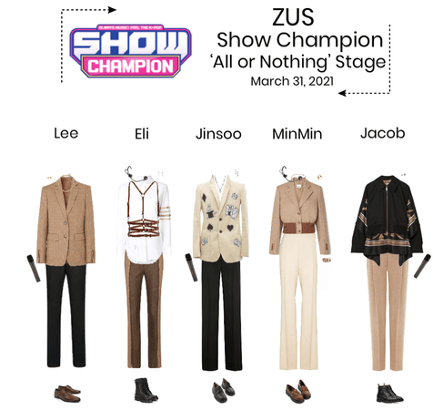 Zus//'All or Nothing' Show Champion Stage