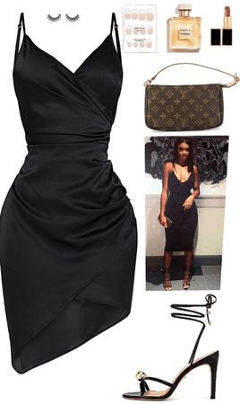 Sexy Date Night Black Dress