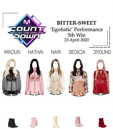 BITTER-SWEET [비터스윗] M Countdown 200423
