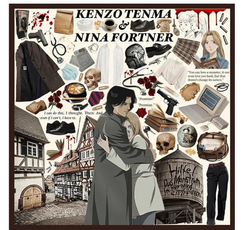 MONSTER: Kenzo Tenma & Nina Fortner