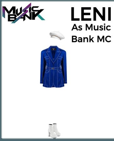 LENI As Music Bank MC