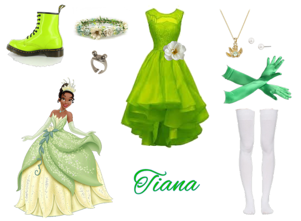 Tiana Princess and the Frog disney
