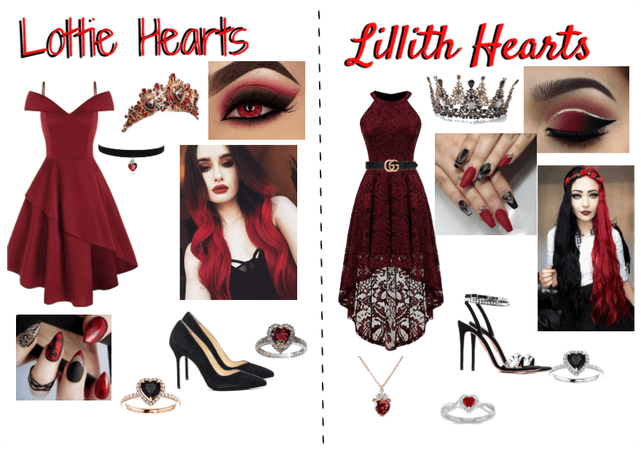 Lottie and Lillith Hearts Thronecoming