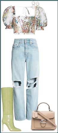 Shirt & Jeans