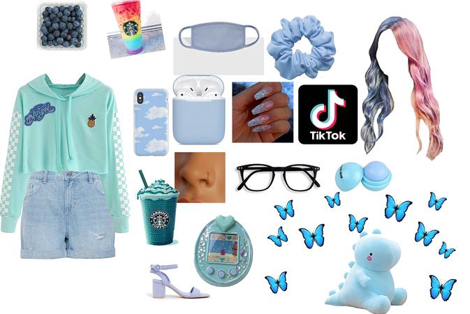 blue chic geek