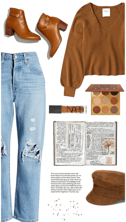 Outfit 32// puff sleeves