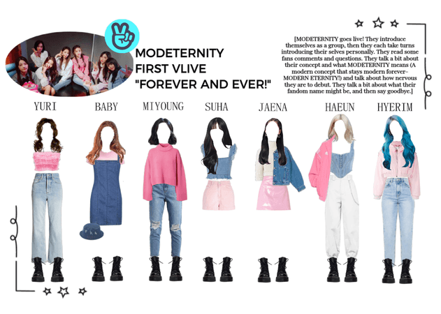 "MODETERNITY | First VLIVE! | ""Forever and ever!"""