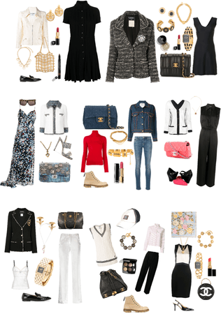 Chanel daily looks and choose one for your vocation.