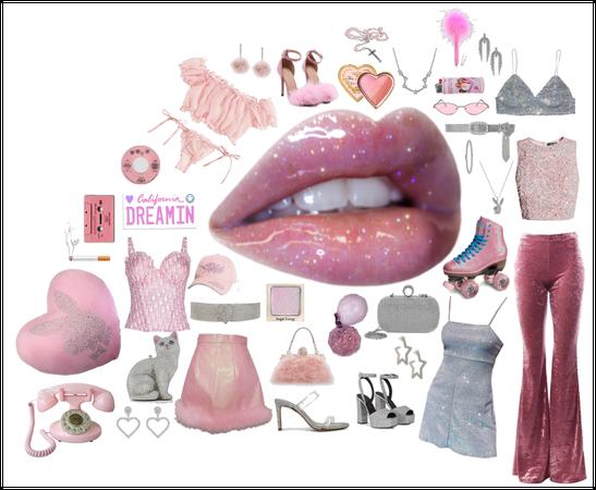pink y2k fits
