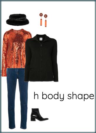 H ( Rectangle) Body Shape