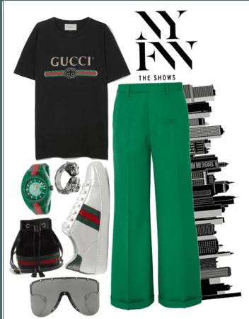 Gucci at fashion week