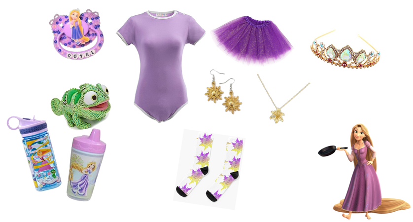 Rapunzel Themed Agere Outfit