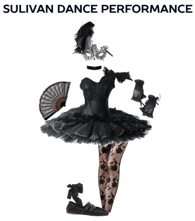 Sulivan Dance Performance-Black Swan