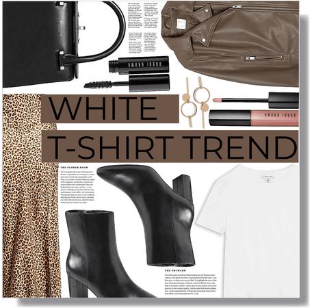 white t-shirt trend 🤎