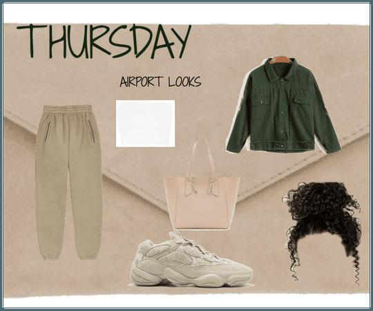 Thursday - Airport