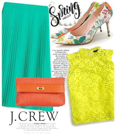 Colorful Spring with J. Crew