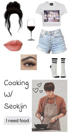 Cooking With Seokjin