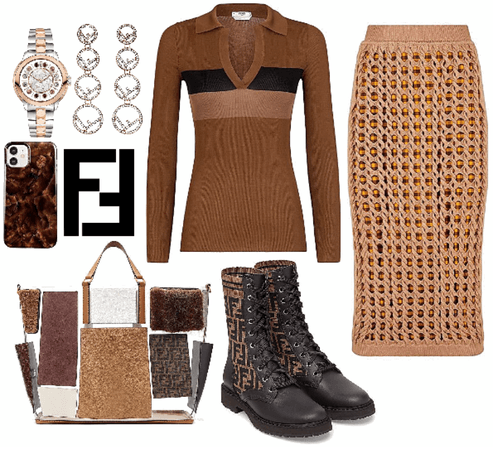 Can't get enough of Fendi