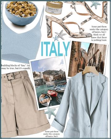Next destination Italy